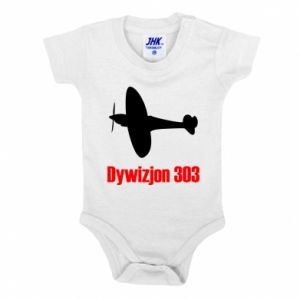 Baby bodysuit Division 303 - PrintSalon