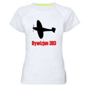Women's sports t-shirt Division 303 - PrintSalon