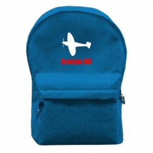 Backpack with front pocket Division 303 - PrintSalon