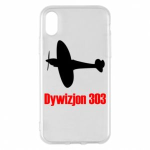 Phone case for iPhone X/Xs Division 303 - PrintSalon