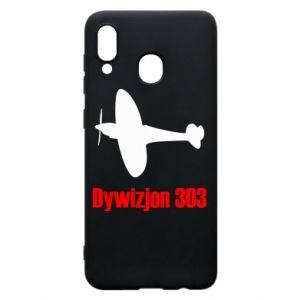 Phone case for Samsung A20 Division 303 - PrintSalon