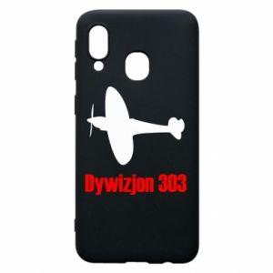 Phone case for Samsung A40 Division 303 - PrintSalon