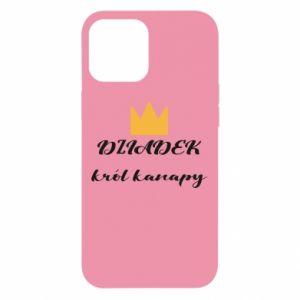 Etui na iPhone 12 Pro Max Dziadek król kanapy