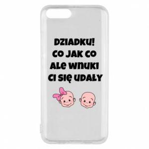 Etui na Xiaomi Mi6 Dziadku! Co jak co ale wnuki Ci się udały
