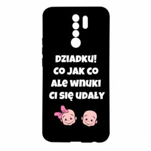 Etui na Xiaomi Redmi 9 Dziadku! Co jak co ale wnuki Ci się udały