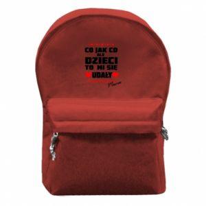 Plecak z przednią kieszenią Dzieci mi sie udaly
