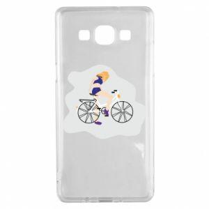 Etui na Samsung A5 2015 Dziewczyna na rowerze