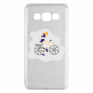 Etui na Samsung A3 2015 Dziewczyna na rowerze