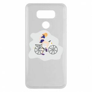 Etui na LG G6 Dziewczyna na rowerze
