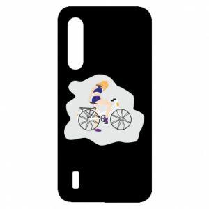Etui na Xiaomi Mi9 Lite Dziewczyna na rowerze