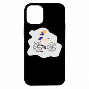 Etui na iPhone 12 Mini Dziewczyna na rowerze