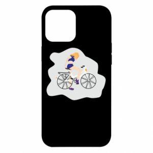 Etui na iPhone 12 Pro Max Dziewczyna na rowerze