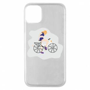 Etui na iPhone 11 Pro Dziewczyna na rowerze