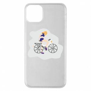 Etui na iPhone 11 Pro Max Dziewczyna na rowerze