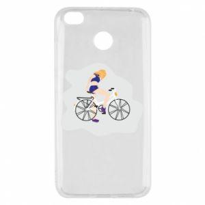 Etui na Xiaomi Redmi 4X Dziewczyna na rowerze