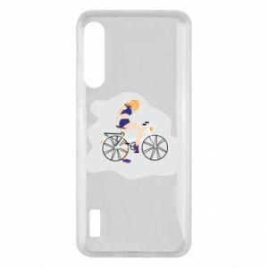 Etui na Xiaomi Mi A3 Dziewczyna na rowerze