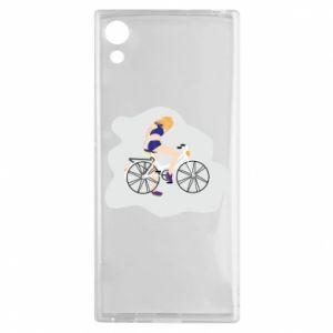 Etui na Sony Xperia XA1 Dziewczyna na rowerze