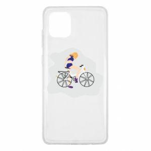 Etui na Samsung Note 10 Lite Dziewczyna na rowerze