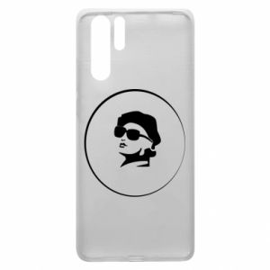 Huawei P30 Pro Case Girl in glasses
