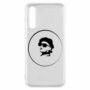 Huawei P20 Pro Case Girl in glasses