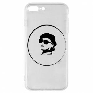 iPhone 7 Plus case Girl in glasses