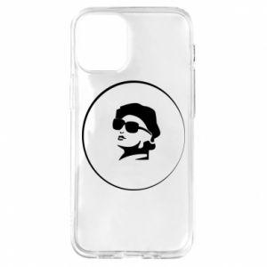 iPhone 12 Mini Case Girl in glasses