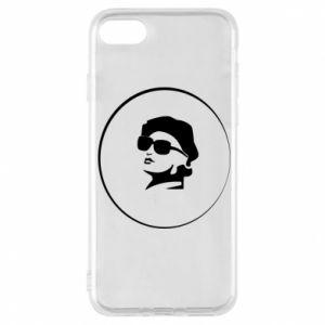 iPhone 8 Case Girl in glasses