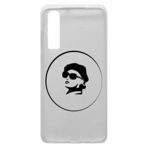 Huawei P30 Case Girl in glasses