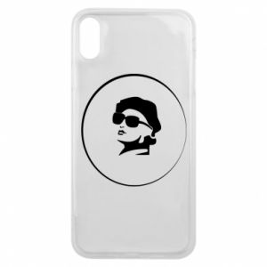 iPhone Xs Max Case Girl in glasses