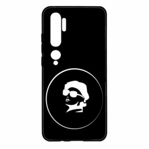 Xiaomi Mi Note 10 Case Girl in glasses