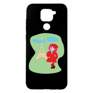Etui na Xiaomi Redmi Note 9/Redmi 10X Dziewczyna w Paryżu