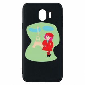 Phone case for Samsung J4 Girl in Paris - PrintSalon