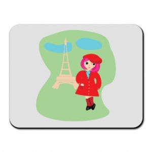 Mouse pad Girl in Paris
