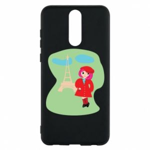 Phone case for Huawei Mate 10 Lite Girl in Paris - PrintSalon