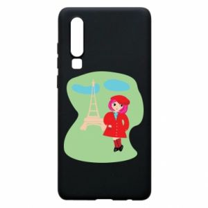 Phone case for Huawei P30 Girl in Paris - PrintSalon