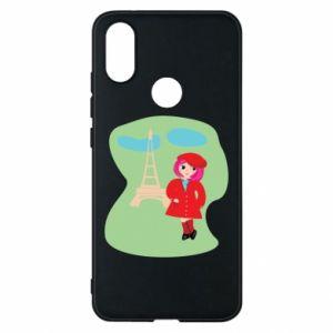 Phone case for Xiaomi Mi A2 Girl in Paris - PrintSalon