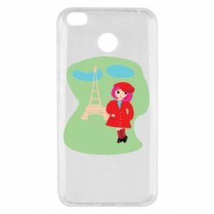 Etui na Xiaomi Redmi 4X Dziewczyna w Paryżu