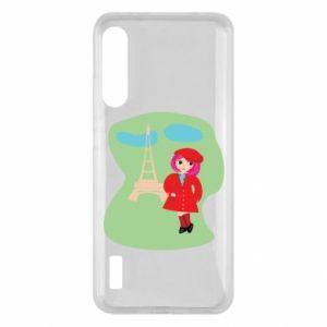 Etui na Xiaomi Mi A3 Dziewczyna w Paryżu
