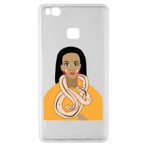 Etui na Huawei P9 Lite Dziewczyna z wężem