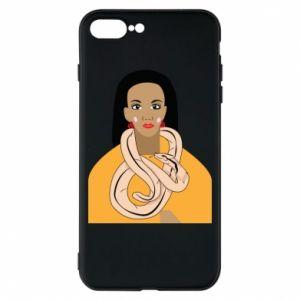 Etui na iPhone 8 Plus Dziewczyna z wężem