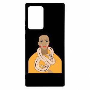 Etui na Samsung Note 20 Ultra Dziewczyna z wężem