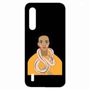Etui na Xiaomi Mi9 Lite Dziewczyna z wężem