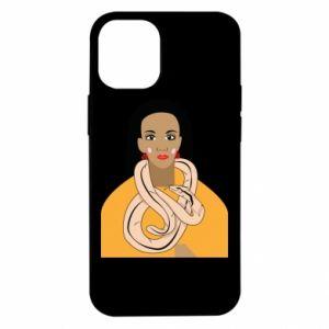 Etui na iPhone 12 Mini Dziewczyna z wężem