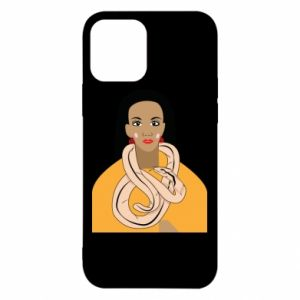 Etui na iPhone 12/12 Pro Dziewczyna z wężem