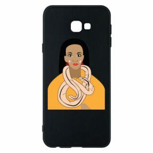 Etui na Samsung J4 Plus 2018 Dziewczyna z wężem