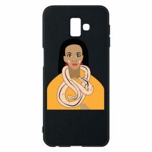 Etui na Samsung J6 Plus 2018 Dziewczyna z wężem