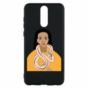 Etui na Huawei Mate 10 Lite Dziewczyna z wężem