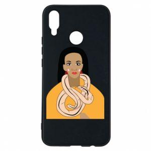Etui na Huawei P Smart Plus Dziewczyna z wężem