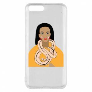 Etui na Xiaomi Mi6 Dziewczyna z wężem