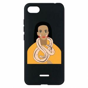 Etui na Xiaomi Redmi 6A Dziewczyna z wężem